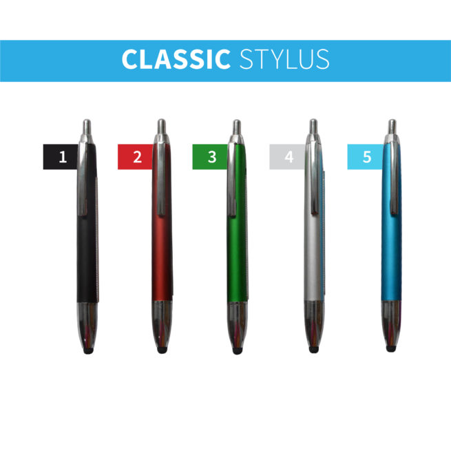 Classic Stylus Banner Pens